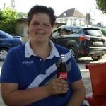 Mike aan de coke